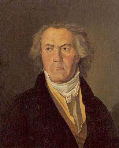 Ludwig von Beethoven door Waldmüller